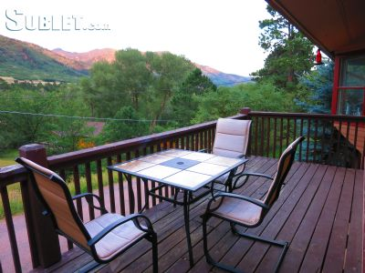 Image 2 furnished 3 bedroom House for rent in Cascade, Colorado Springs