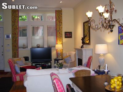 Image 2 furnished 2 bedroom Townhouse for rent in Back Bay, Boston Area