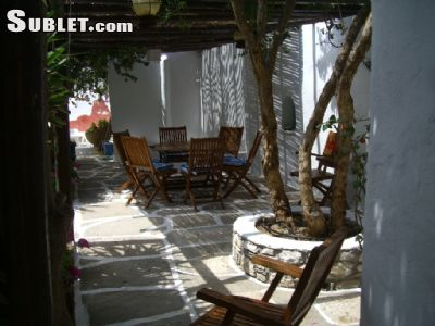 Image 6 furnished 3 bedroom House for rent in Paros, Cyclades