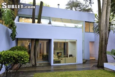 Image 1 furnished 3 bedroom House for rent in Coyoacan, Mexico City