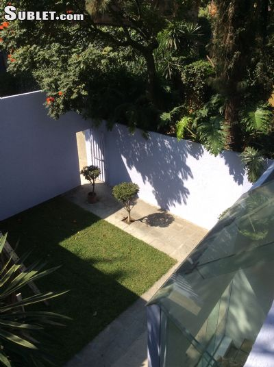 Image 2 furnished 3 bedroom House for rent in Coyoacan, Mexico City
