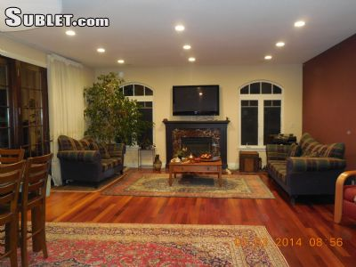 Image 3 either furnished or unfurnished 5 bedroom House for rent in Cupertino, Santa Clara County