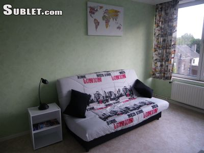 Image 1 furnished Studio bedroom Apartment for rent in Charleroi, Hainaut