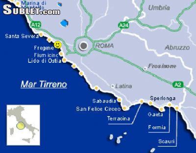 Image 7 furnished 1 bedroom House for rent in Fiumicino, Roma (Province)