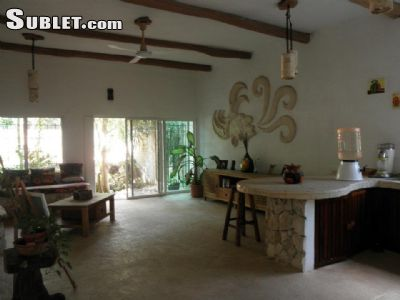 Image 6 furnished 2 bedroom House for rent in Playa Del Carmen, Quintana Roo