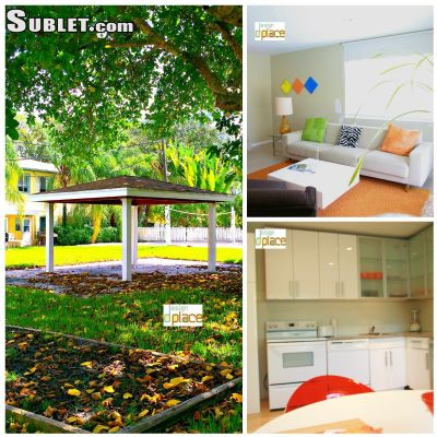 Image 1 furnished 1 bedroom Apartment for rent in Dade County, Miami Area