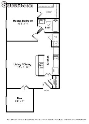 Image 4 either furnished or unfurnished 1 bedroom Apartment for rent in Woodbridge, DC Metro