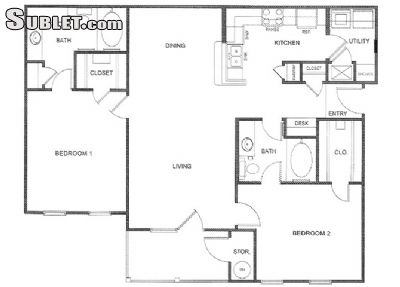 Image 9 unfurnished 2 bedroom Apartment for rent in Caddo (Shreveport), Sportsmans Paradise