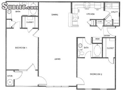 Image 9 furnished 2 bedroom Apartment for rent in Caddo (Shreveport), Sportsmans Paradise
