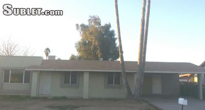 Image 1 either furnished or unfurnished 3 bedroom House for rent in Glendale Area, Phoenix Area