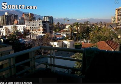 Image 5 furnished 1 bedroom Apartment for rent in Nunoa, Santiago City