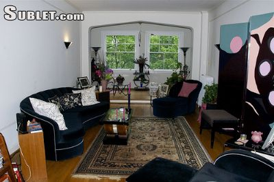 Image 2 furnished 1 bedroom Apartment for rent in Woodley Park, DC Metro