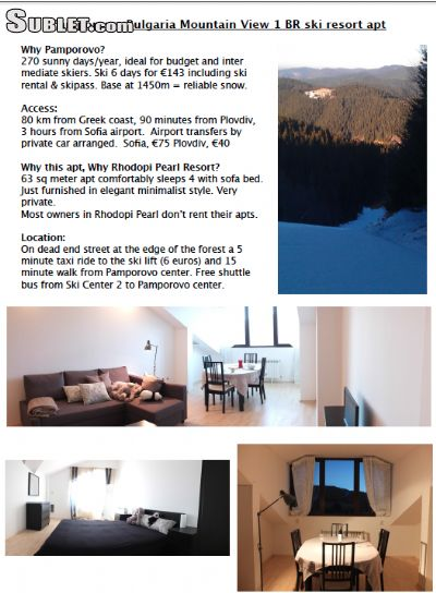 Image 10 furnished 1 bedroom Apartment for rent in Smolyan, Smolyan