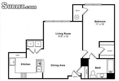 Image 7 either furnished or unfurnished 1 bedroom Apartment for rent in Jersey City, Hudson County