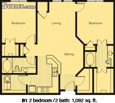 Image 10 furnished 2 bedroom Apartment for rent in Eden Prairie, Twin Cities Area