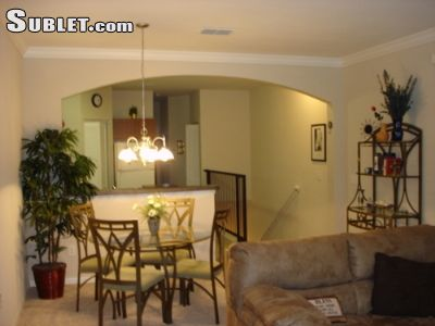 Image 2 furnished 1 bedroom Townhouse for rent in Palm Harbor, Pinellas (St. Petersburg)