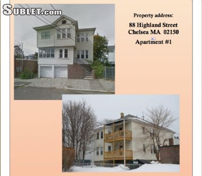 Image 1 either furnished or unfurnished 4 bedroom Apartment for rent in Chelsea, Boston Area