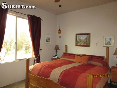 Image 5 furnished 2 bedroom House for rent in Pima (Tucson), Old West Country