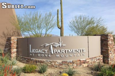 Image 1 unfurnished 1 bedroom Apartment for rent in Pima (Tucson), Old West Country