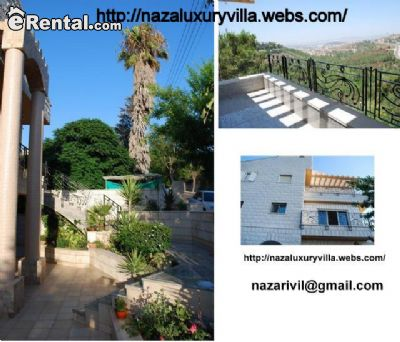 Image 1 either furnished or unfurnished 4 bedroom House for rent in Nazerat Illit, North Israel