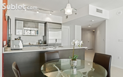 Brickell Avenue Furnished 2 Bedroom Apartment For Rent