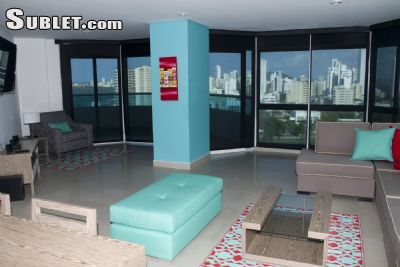 Image 2 furnished 3 bedroom Apartment for rent in Cartagena, Bolivar CO