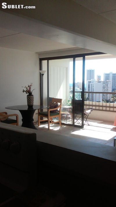 Honolulu Furnished 1 Bedroom Apartment For Rent 1200 Per