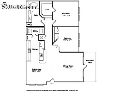Image 2 either furnished or unfurnished 2 bedroom Apartment for rent in Miramar, Ft Lauderdale Area