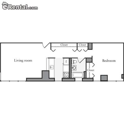 Image 9 unfurnished 1 bedroom Apartment for rent in Midtown-West, Manhattan