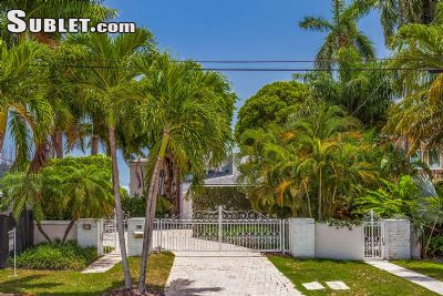 Image 1 furnished 5 bedroom House for rent in Miami Beach, Miami Area