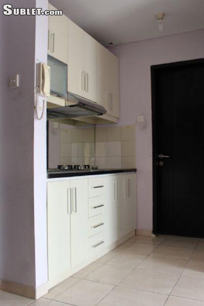 Image 5 furnished Studio bedroom Apartment for rent in South Jakarta, Jakarta