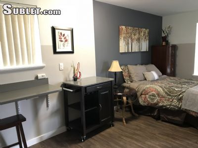 Image 4 furnished Studio bedroom Apartment for rent in Renton, Seattle Area
