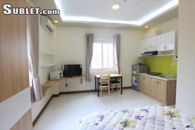 Image 1 furnished Studio bedroom Apartment for rent in District 1, Ho Chi Minh City