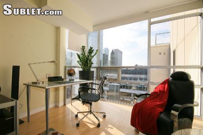 Image 2 furnished 1 bedroom Apartment for rent in Financial District, Old Toronto