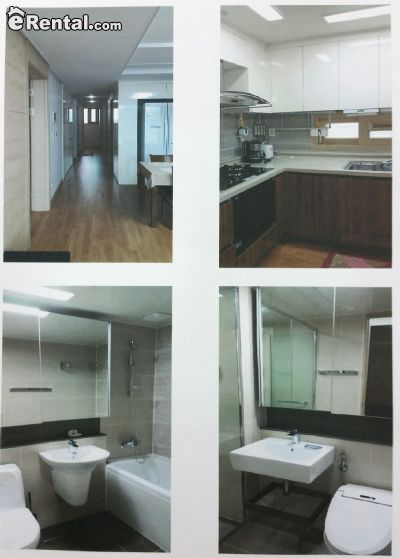Image 3 furnished 3 bedroom Apartment for rent in Jinhae, South Gyeongsang