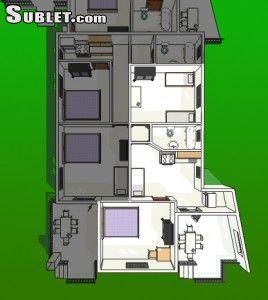 Image 1 furnished 2 bedroom Apartment for rent in Vodice, Sibenik Knin