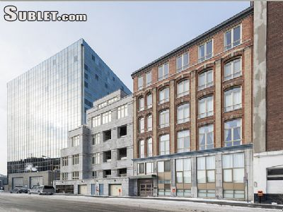 Image 1 furnished 2 bedroom Loft for rent in Old Montreal, Montreal