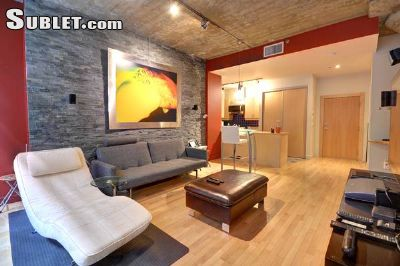 Image 2 furnished 1 bedroom Loft for rent in Downtown, Montreal Area