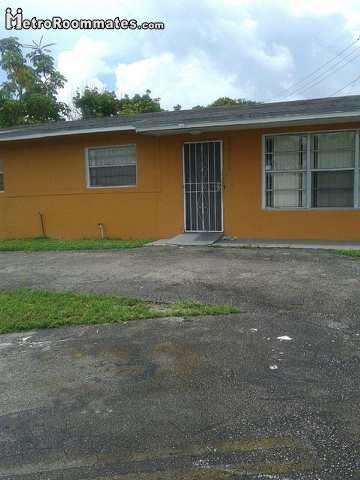 Image 1 Furnished room to rent in Opa-Locka, Miami Area 4 bedroom Dorm Style