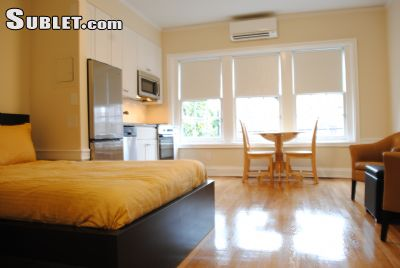 Image 1 furnished Studio bedroom Apartment for rent in Dupont Circle, DC Metro