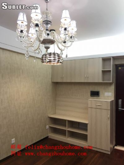 Image 1 furnished 1 bedroom Apartment for rent in Wujin, Changzhou