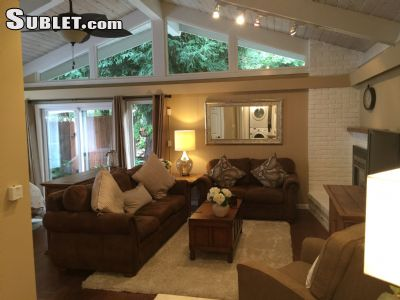 Image 1 furnished Studio bedroom Apartment for rent in Redwood City, San Mateo (Peninsula)