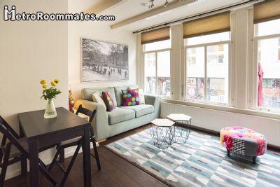 Image 2 Furnished room to rent in Centrum, Amsterdam Studio bedroom Apartment