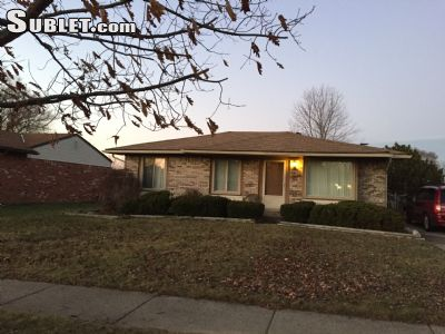 Image 1 furnished 3 bedroom House for rent in Macomb, Detroit Area