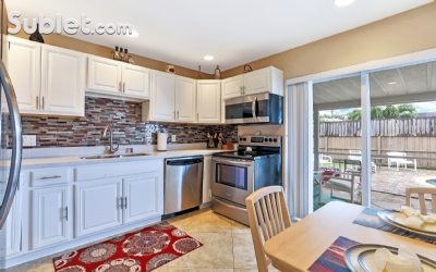 Image 9 furnished 3 bedroom House for rent in West Palm Beach, Ft Lauderdale Area