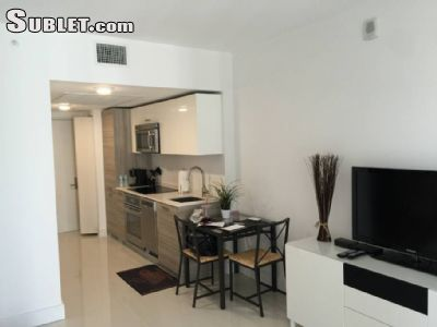 Image 1 furnished Studio bedroom Apartment for rent in Brickell Avenue, Miami Area