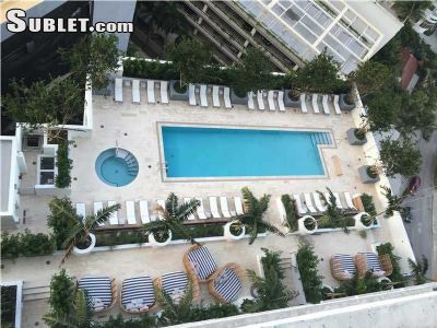 Image 9 furnished Studio bedroom Apartment for rent in Brickell Avenue, Miami Area