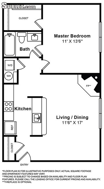 Image 2 either furnished or unfurnished 1 bedroom Apartment for rent in Leesburg, DC Metro