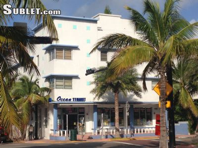 Image 1 furnished Studio bedroom Apartment for rent in South Beach, Miami Area