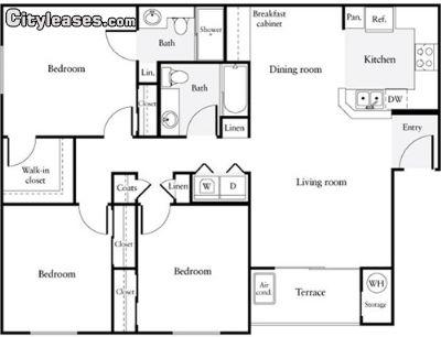 Image 10 unfurnished 3 bedroom Apartment for rent in Santa Clara, Santa Clara County
